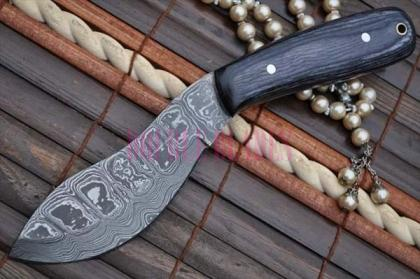 Damascus Hunting Knife Nessmuk Knife