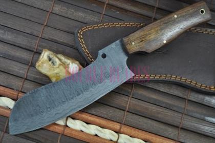 Damascus Chef Knife -Handcrafted
