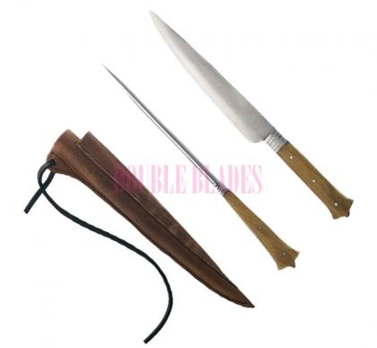 Medieval Kitchen Knife and Pricker