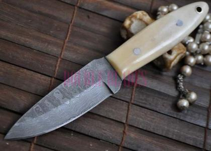 HANDMADE BUSHCRAFT KNIFE CARVER STYLE