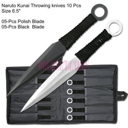 Naruto Kunai Throwing knives Set of 10 Pcs