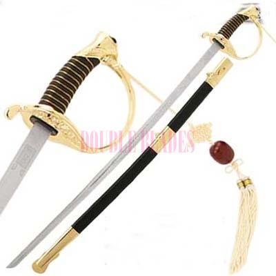 CSA Cavalry Sword Civil War Officer Gold