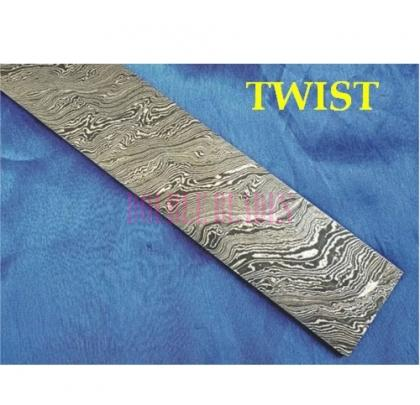 TWIST design Damascus steel construction