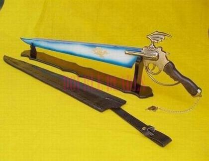 Final Fantasy-Lionheart Winged Gunblade of Squall Sword