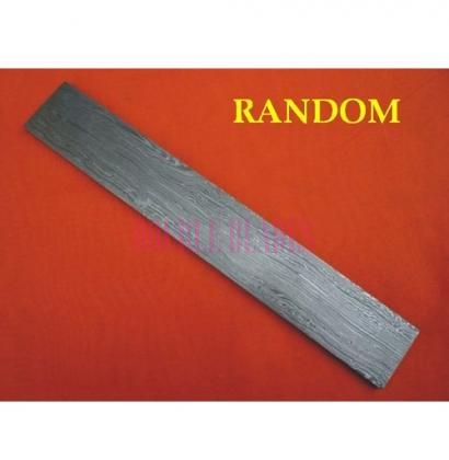 RANDOM design Damascus steel construction