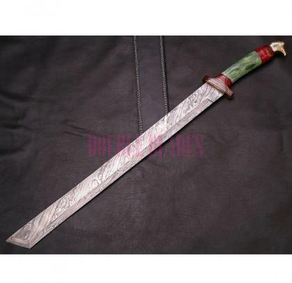 Damascus Hunting Sword