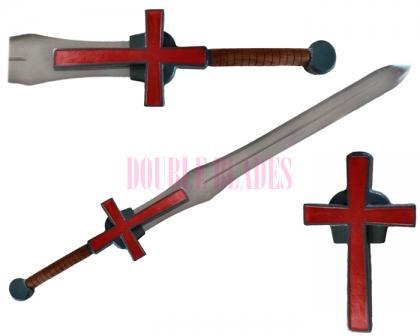 Holy Crusader Medieval Blessed Greatsword Templar Cross Sword