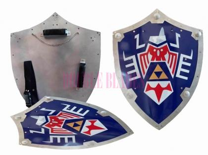 Majora Mask Link Triforce Hylian Shield