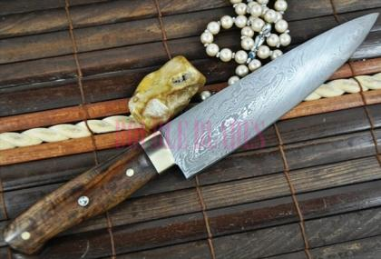 Custom Made Ches Knife Damascus Steel
