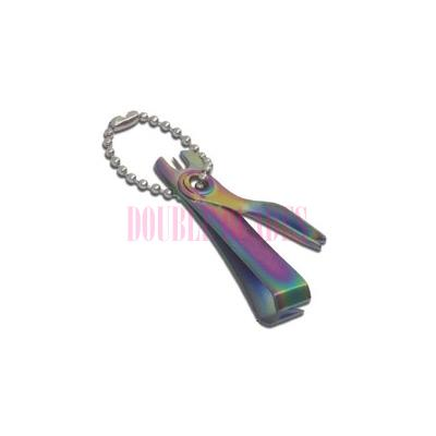 Fishing Line Nippers Rainbow color