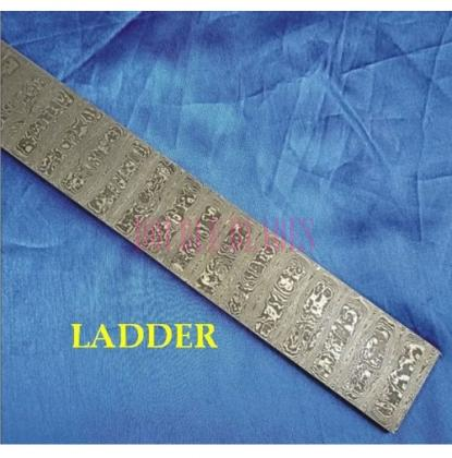 LADDER design Damascus steel construction