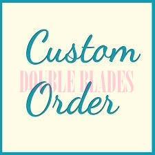Own Make Custom Damascus knife Orders