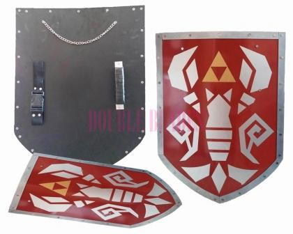 Link Phantom Hourglass Steel Shield of Antiquity Triforce