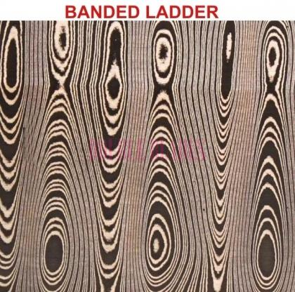 DAMASCUS PATTERNS BANDED LADDER