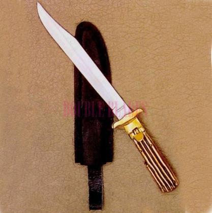 Cobra Bowie Hunting Knife