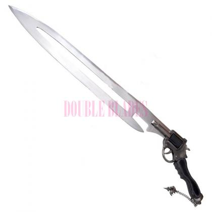 Final Fantasy Functional Ras Algethi Revolver Gunblade Sword