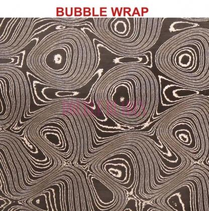 DAMASCUS PATTERNS BUBBLE WRAP