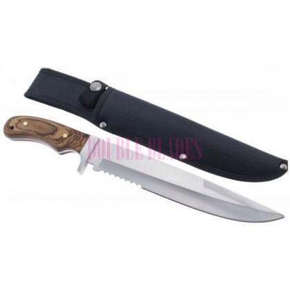 Mountain Tracker Survival Bowie Hunting Knife